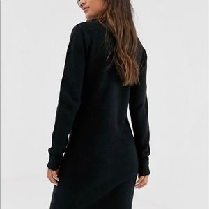 ASOS Dresses - Brave Soul Grungy Round Neck Sweater Dress